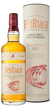 Whisky single malt Benriach cask strength  cl 70