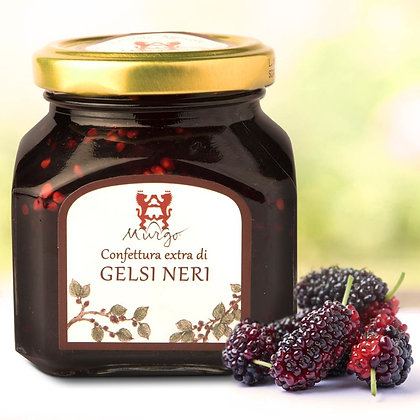 Confettura Extra di Gelsi Neri di Sicilia 240 gr. - Murgo