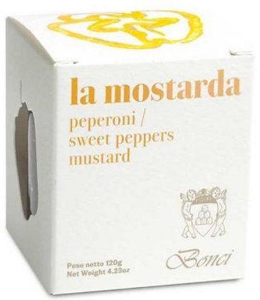 I CANDITI 110g - Mostarda di Peperoni - Pasticceria Bonci