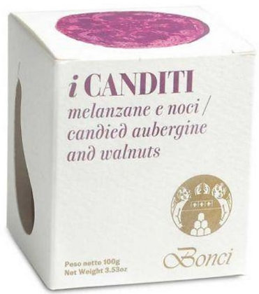 I CANDITI 110g - Melanzane e Noci - Pasticceria Bonci
