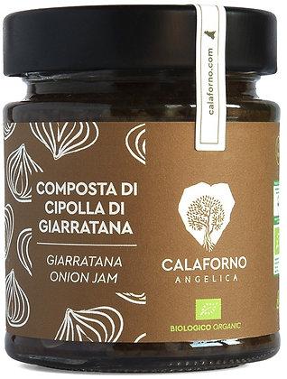 Composta di cipolla di Giarratana Bio 190GR - Calaforno