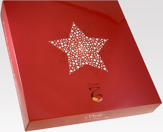 Stella di Natale gr 500 - Torronificio Trapani