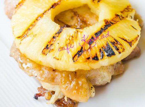 Куриная отбивнушка с ананасом