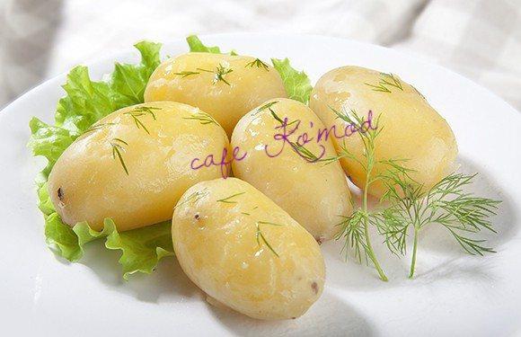 Картошечка отварная