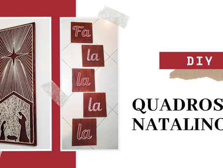 DIY | Quadros Natalinos