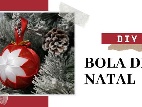ESTREIA 2ª TEMPORADA | DIY Bola de Natal