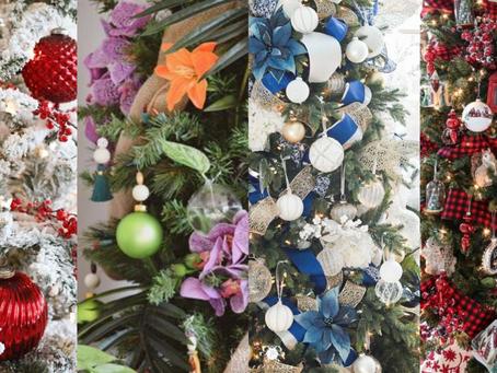 Estilos de decoração natalina para explorar em 2019