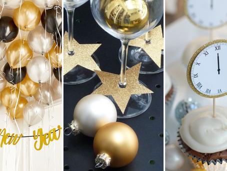8 ideias de decoração para a sua festa de Ano Novo