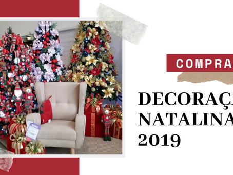 Vlog de compras | Decoração de Natal 2019