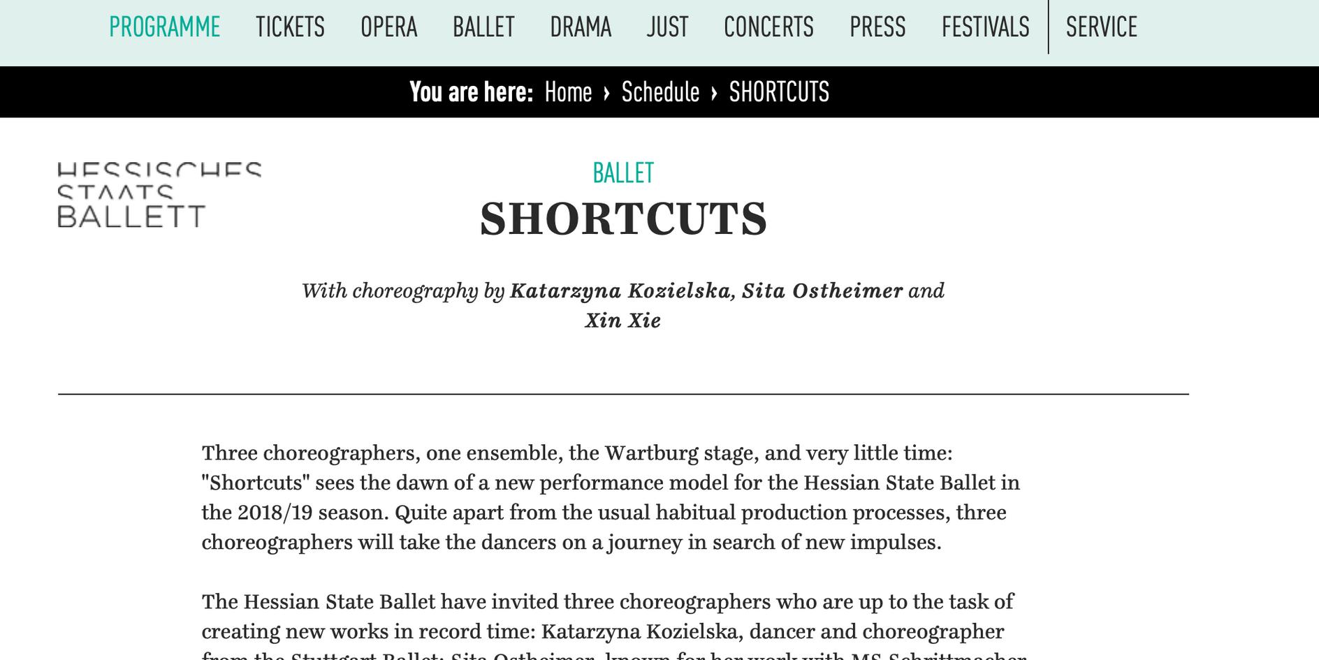 Hessisches  Staat Ballett