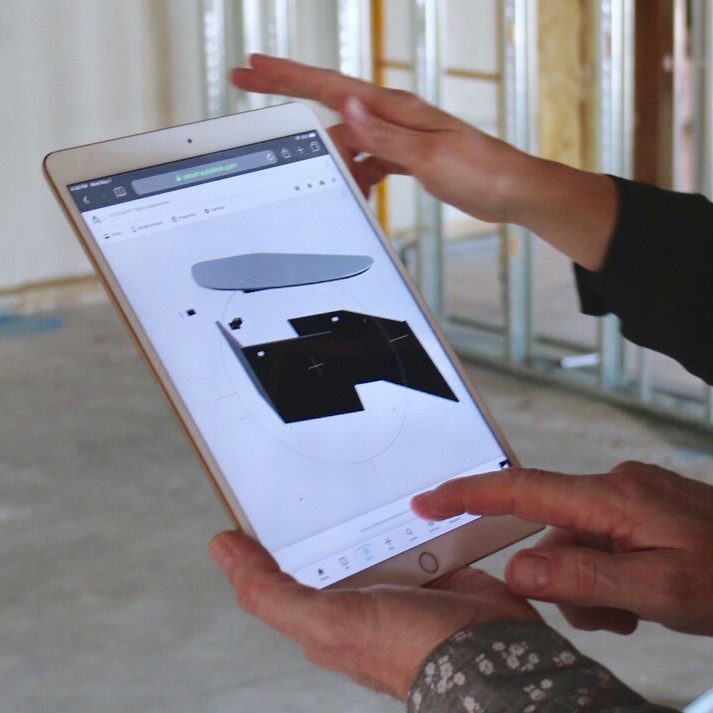 Model viewer in construction enviornment