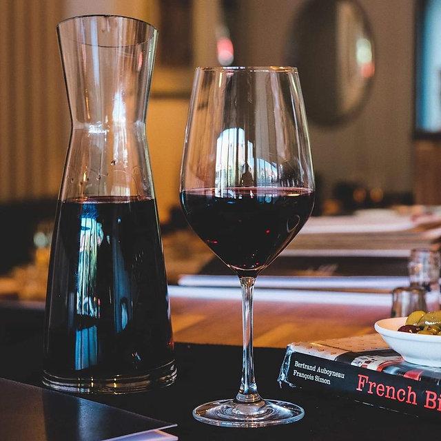 Bistro StJacques Wine List