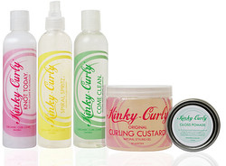 Kinky Curly Hair Products