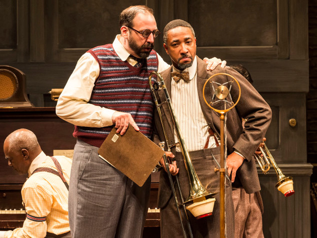 As Irvin with Damon Gupton as Cutler in MA RAINEY'S BLACK BOTTOM at Mark Taper Forum, directed by Phylicia Rashad.