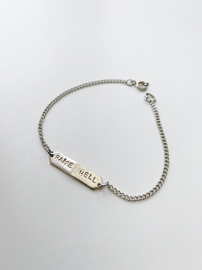 Raise Hell bracelet