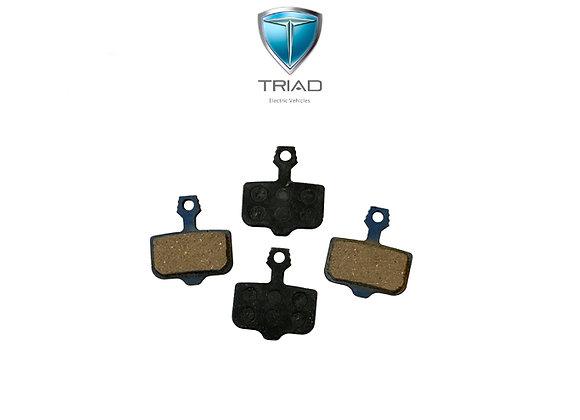 Triad CSX / Quantum Rear Brake Pads