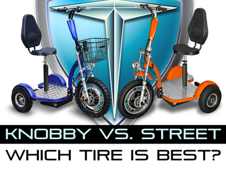 Choosing your 3 Wheel Scooter Tires
