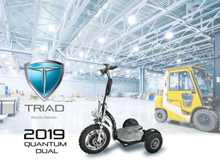 Triad Industrial and Commercial 3 Wheel Scooters