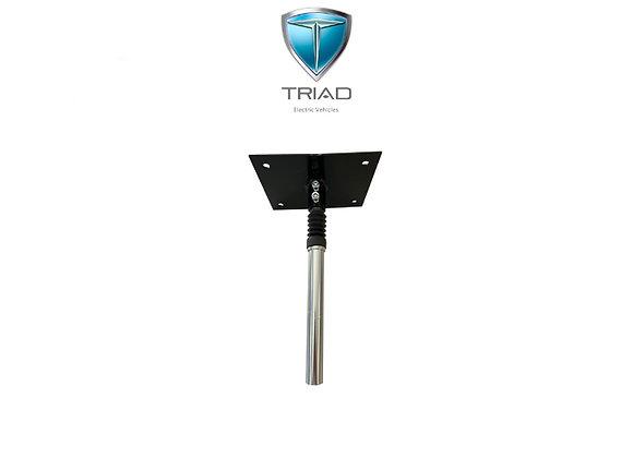 Triad CSX / Quantum Shock Seat Post and Base Plate