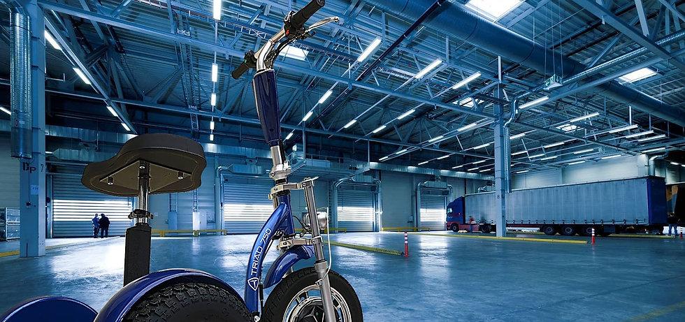 Triad Industrial Electric Utility Vehicl