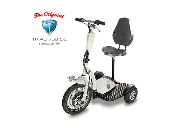 Triad 750 SE Seat with Backrest