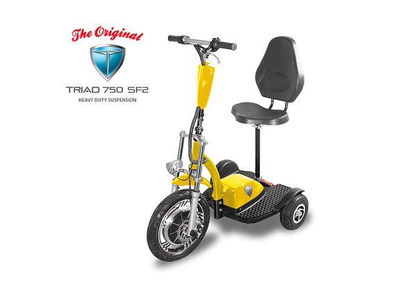 Triad 750 SF2 with Backrest