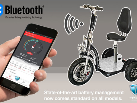 3 Wheel Scooters Take a Quantum Leap with Smart BMS
