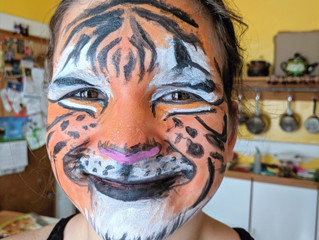 Face painting by Lol-Be