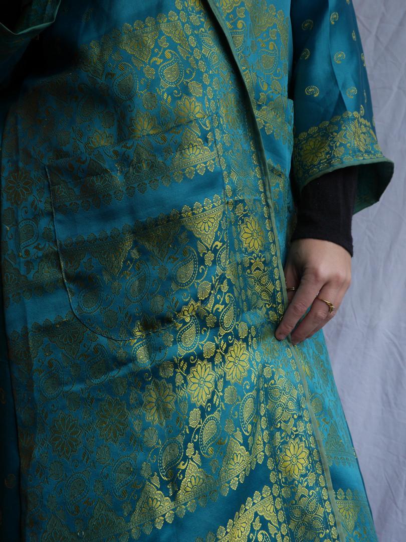 Green Goddess Kimono