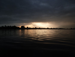 The lakes of Shrinigar, Jammu and Kashmir.