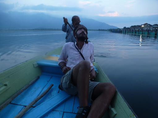 The lakes of Shrinigar, Jammu and Kashmir