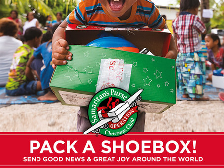 Pack A Shoebox!