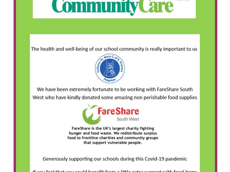 Community Care Food Supplies