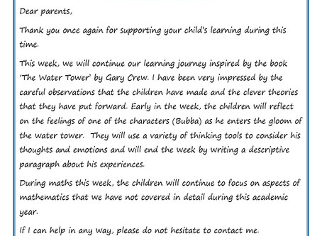 Year 6 Weekly Newsletter 6th July