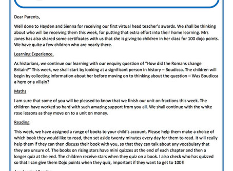 Year 3 Weekly Newsletter 4th May