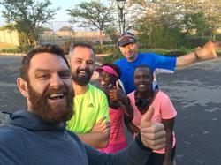 Group Run at Northriding