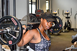 Female Gym Member and Jackal Creek