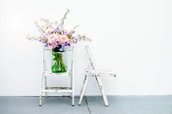 Jar on a chair