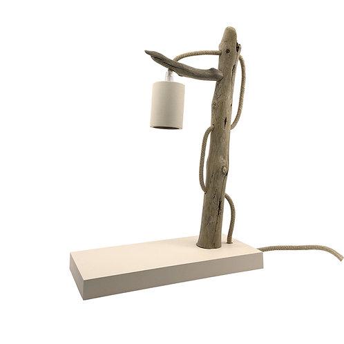 Lampe à poser en bois flotté Kalt