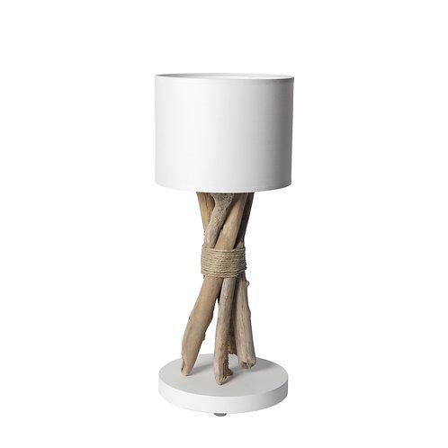 Lampe à poser Ligot en bois flotté