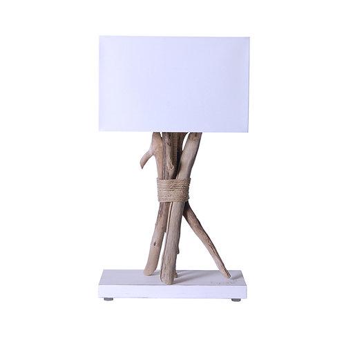 Lampe bois flotté Margotin