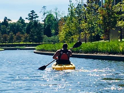 Lake Woodlands Kayaking