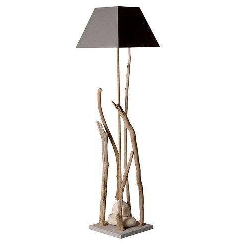 Lampe a pied bois flotté Grand Esprit de Lagon