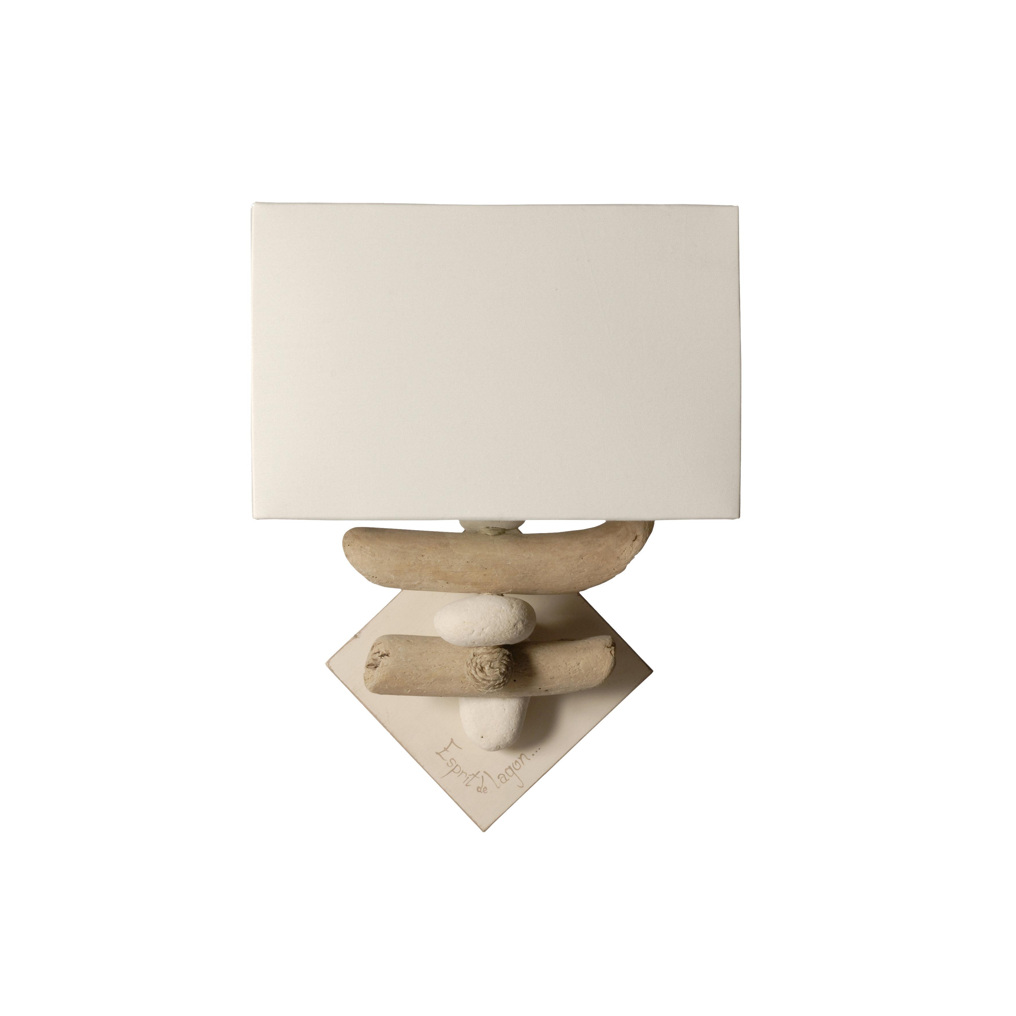 Luminaires en bois flotté Fabriqué en France par Coc\'Art Créations ...