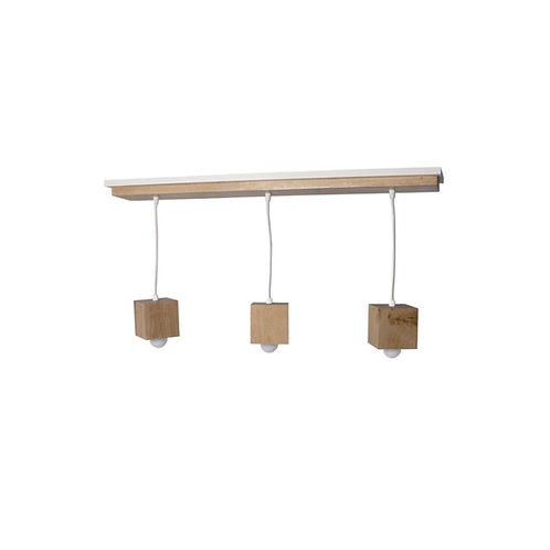 Suspension bois rectangulaire Skipa