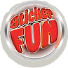Sticker fun logo