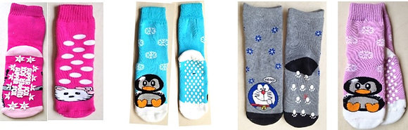 Kiddies Long Slipper socks (non-slip)