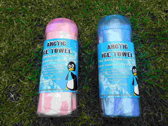 Arctic Ice Towel Blue or Pink