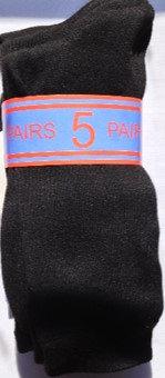 Black or Navy 5-pack formal socks