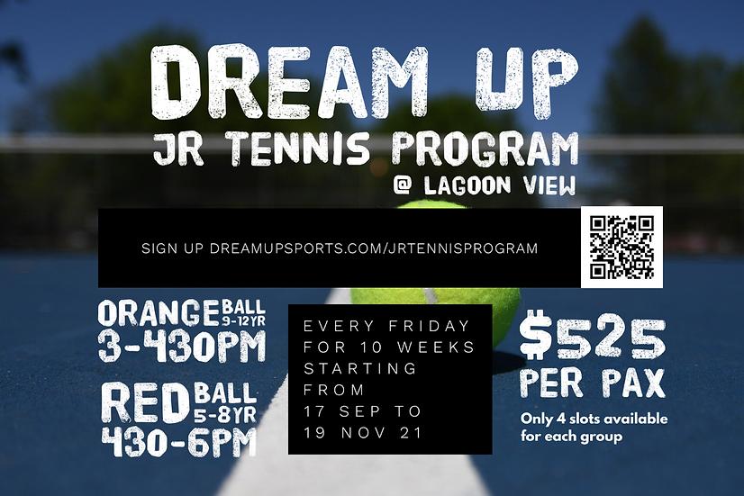 DreamUp Jr tennis program poster.PNG